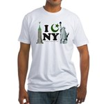 New York City under Islam Fitted T-Shirt
