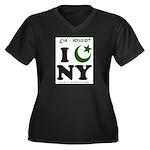 Eid - New York City Women's Plus Size V-Neck Dark