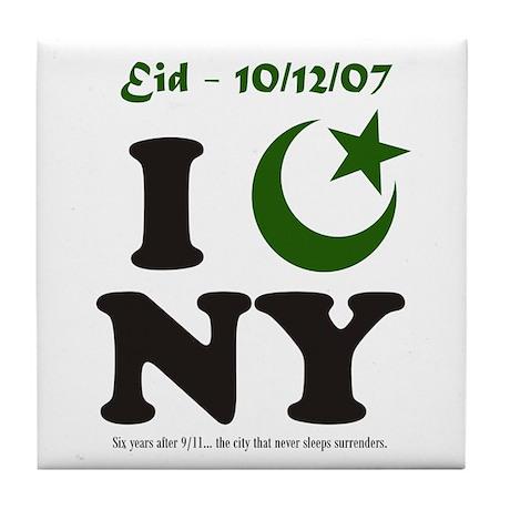 Eid - New York City Tile Coaster