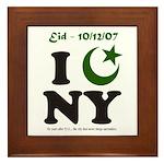 Eid - New York City Framed Tile