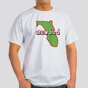 Florida Snow Bird Dark Colors T-Shirt