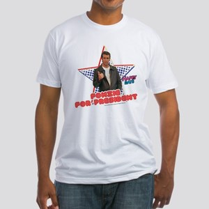 Fonzie for President Fitted T-Shirt
