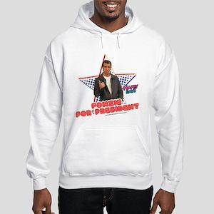 Fonzie for President Hooded Sweatshirt