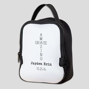 Amazing Grace Cross Custom Personalized Neoprene L