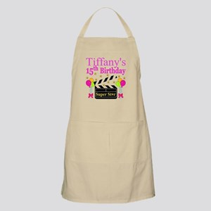 PERSONALIZED 15TH Apron