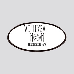 Volleyball Mom Personalized Custom Patch
