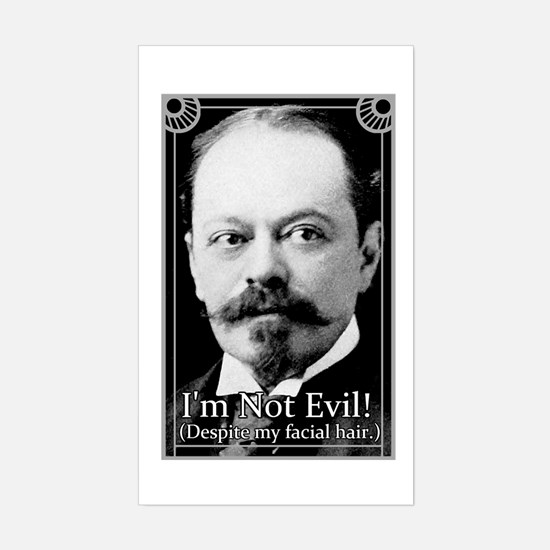 "Not Evil - 3x5"" Decal"