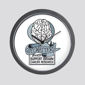 Grey Matters Support Brain Cancer Research Wall Cl