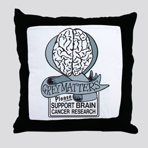 Grey Matters Support Brain Cancer Research Throw P