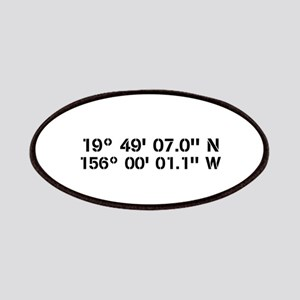 Latitude Longitude Personalized Custom Patch