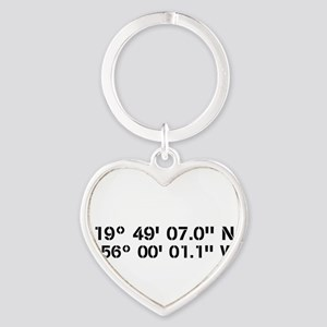 Latitude Longitude Personalized Custom Keychains