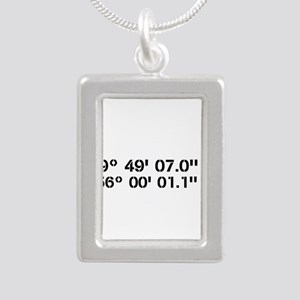 Latitude Longitude Personalized Custom Necklaces