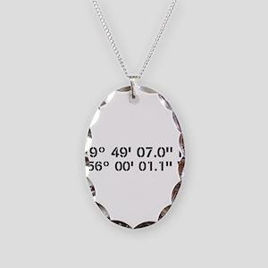 Latitude Longitude Personalized Custom Necklace