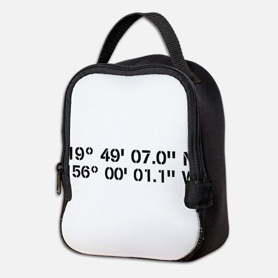 Latitude Longitude Personalized Custom Neoprene Lu