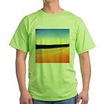 203.mckensie river twilite.. Green T-Shirt