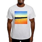203.mckensie river twilite.. Ash Grey T-Shirt