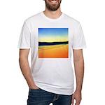 203.mckensie river twilite.. Fitted T-Shirt