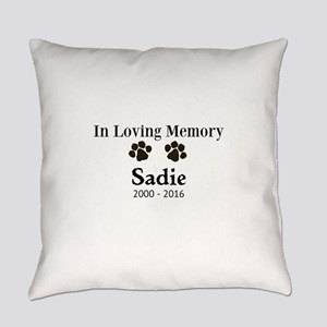 In Loving Memory Pet Paw Personalized Custom Every