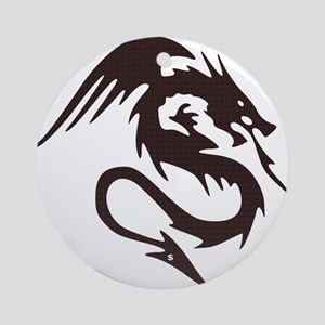 Mythical Dragon Round Ornament