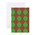 Merry Christmas Fractal Greeting Cards (Pk of 20)