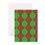 Merry Christmas Fractal Greeting Cards (Pk of 10)