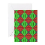 Merry Christmas Fractal Greeting Card
