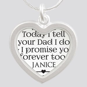 Step Mother to Step Child Wedding Custom Necklaces