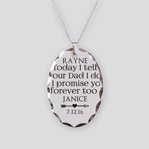 Step Mother to Step Child Wedding Custom Necklace
