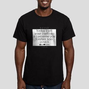 Step Mother to Step Child Wedding Custom T-Shirt