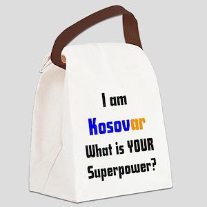 i am kosovar Canvas Lunch Bag