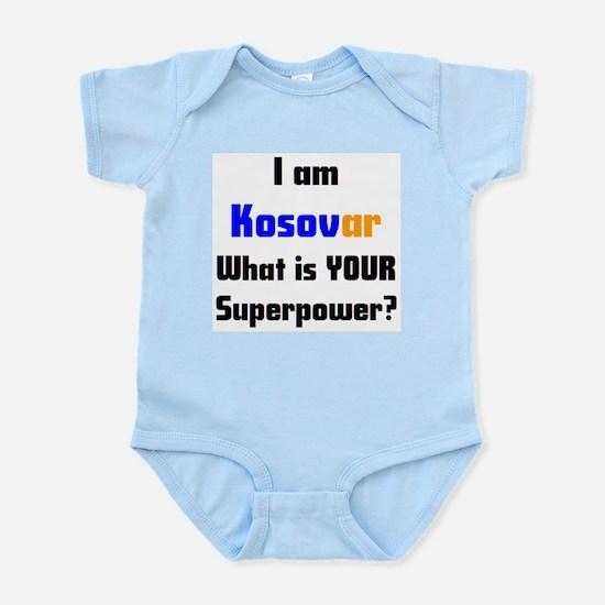 i am kosovar Baby Light Bodysuit