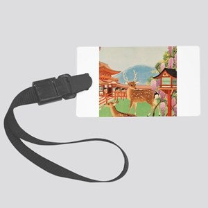 Vintage poster - Japan Large Luggage Tag