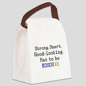 be kosovar Canvas Lunch Bag