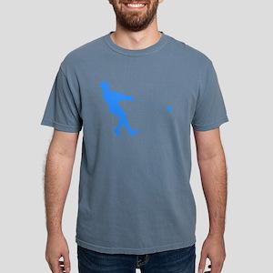 Blue Hammer Throw Silhouette T-Shirt
