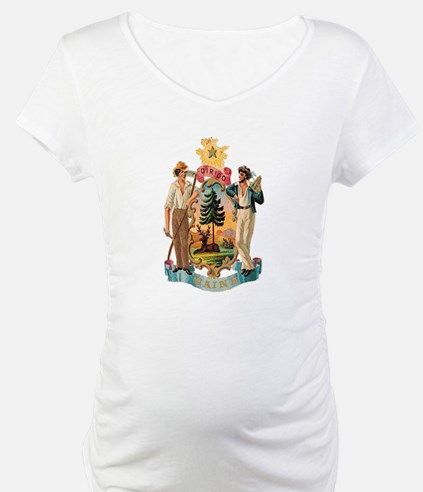 Maine Coat of Arms Shirt