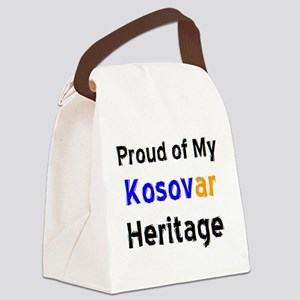 kosovar heritage Canvas Lunch Bag