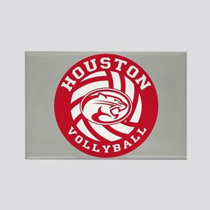 Houston Volleyball Rectangle Magnet