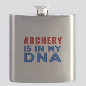 Archery Is In My DNA Flask
