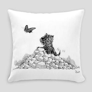 CairnTerrier Fun Everyday Pillow
