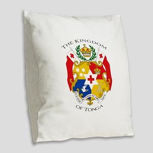 Tonga Sila Burlap Throw Pillow