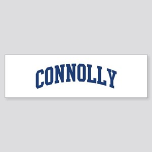 CONNOLLY design (blue) Bumper Sticker