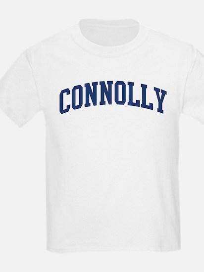 CONNOLLY design (blue) T-Shirt