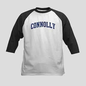 CONNOLLY design (blue) Kids Baseball Jersey