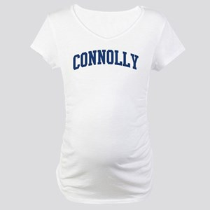 CONNOLLY design (blue) Maternity T-Shirt