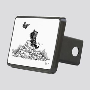 CairnTerrier Fun Rectangular Hitch Cover