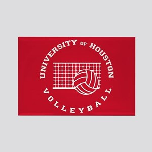 University of Houston Volleyball Rectangle Magnet