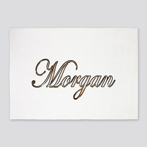 Gold Morgan 5'x7'Area Rug
