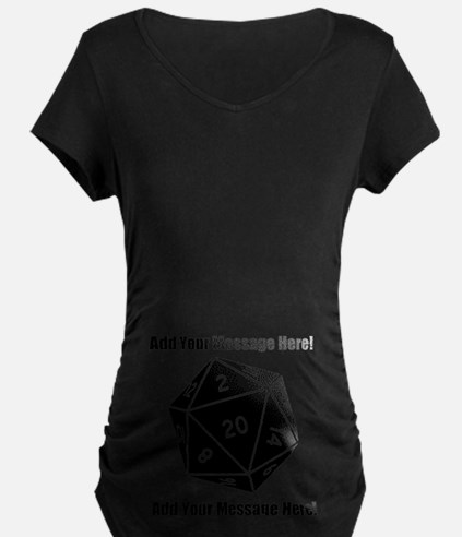 Personalized D20 Graphic T-Shirt