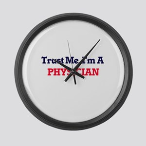 Trust me, I'm a Physician Large Wall Clock