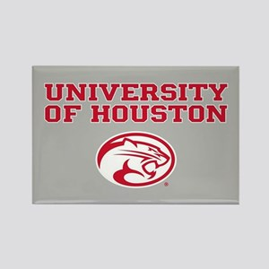 University of Houston Rectangle Magnet
